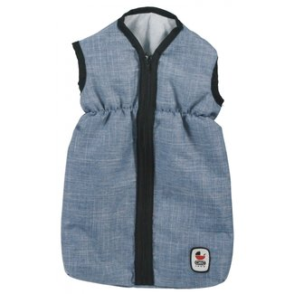 Bayer Chic 2000 Doll's sleeping bag Jeans Blue