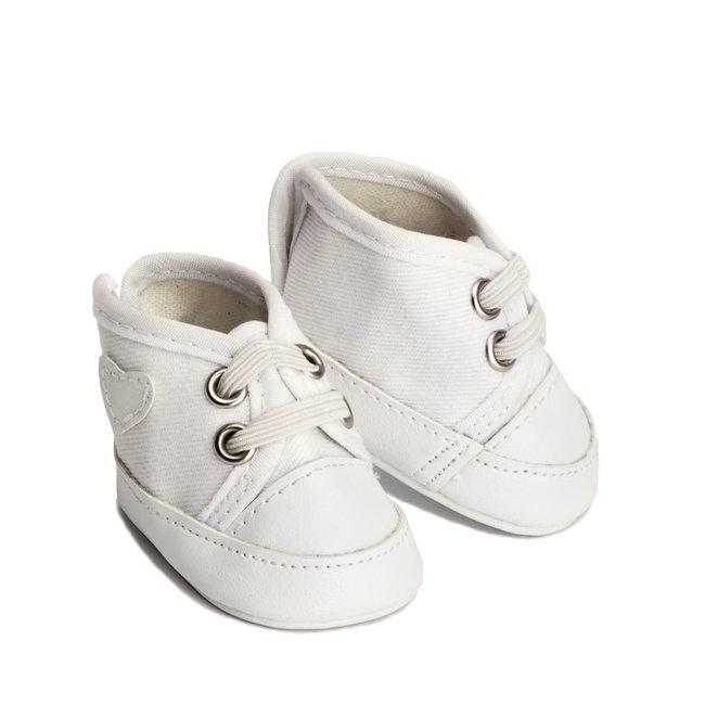 Skrallan Puppen Schuhe Weiß