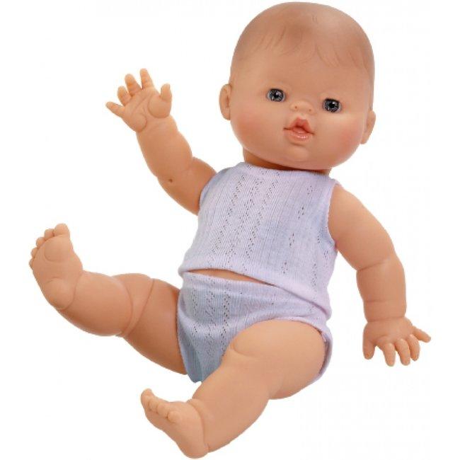 Paola Reina Puppe Gordi Mit Blau Unterwäsche Junge