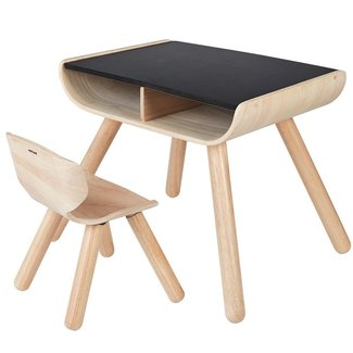 PlanToys Kids Table & Chair