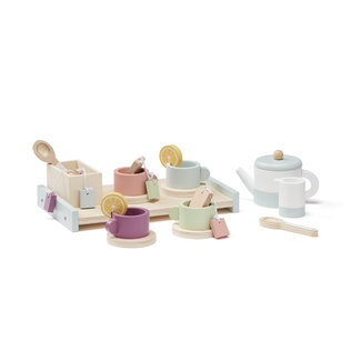 Kids Concept Tea Set Bistro Wood