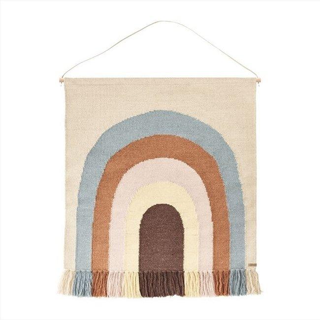 OYOY Rainbow Wall Rug Wallhanger