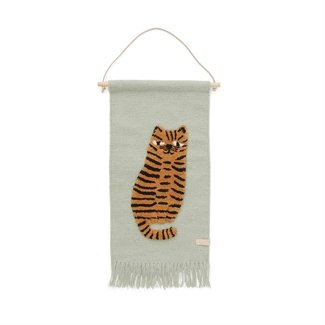 OYOY MINI Tiger Wall Rug Wallhanger