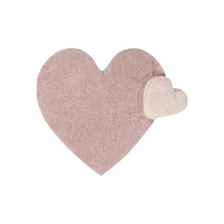 Lorena Canals Rug Pink Heart
