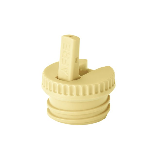 Blafre Cap with spout light yellow