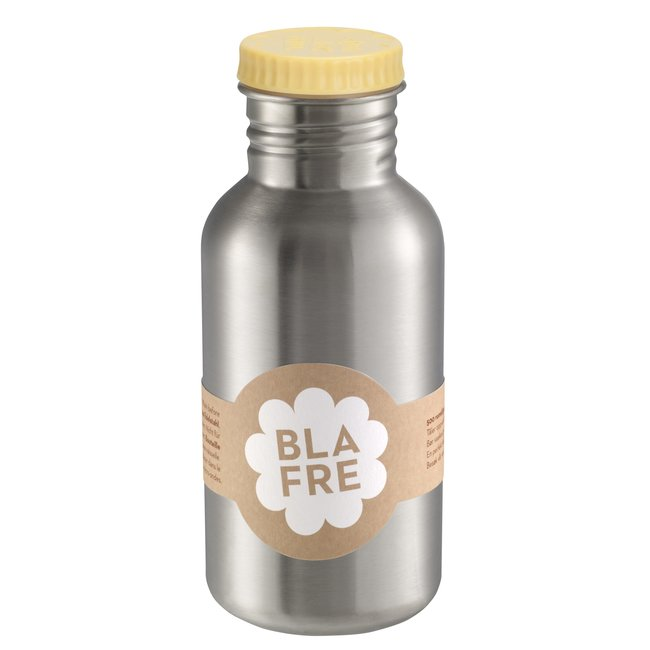 Blafre Drinkfles 500 ml lichtgeel