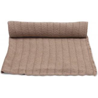 Konges Sløjd Baby Blanket Brown Melange