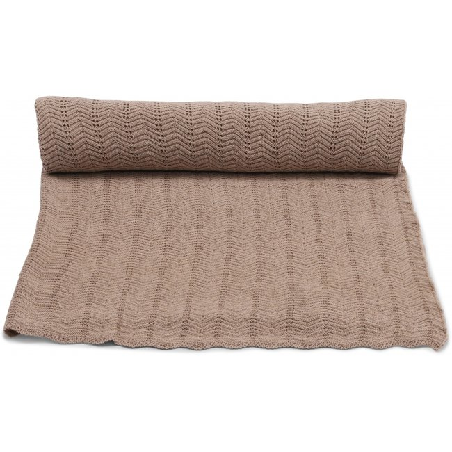 Konges Sløjd Baby Blanket Brown Melange
