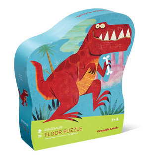 Crocodile Creek Bodenpuzzle Dinosaurier 36 Teile