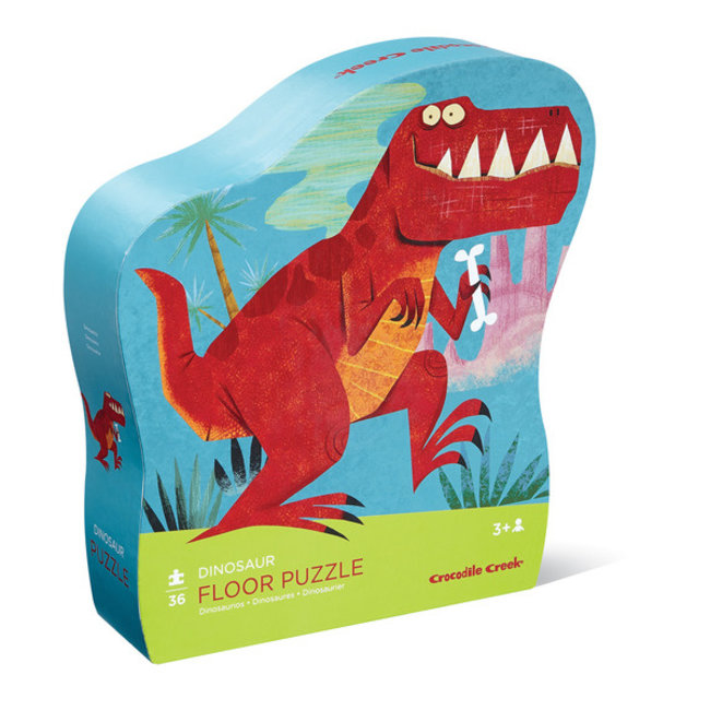 Crocodile Creek Vloerpuzzel Dinosaurus 36 stukjes