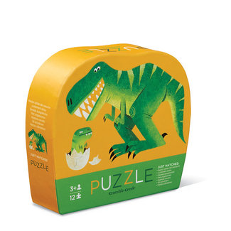 Crocodile Creek Puzzle Just Hatched 12 Teile