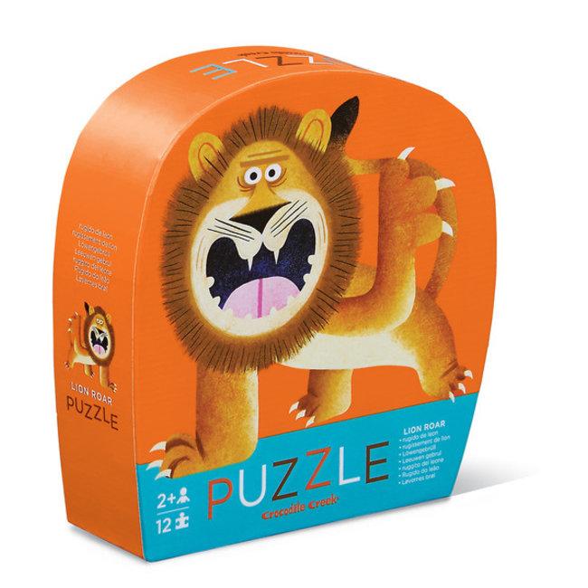 Crocodile Creek Puzzle Lion Roar 12 Teile