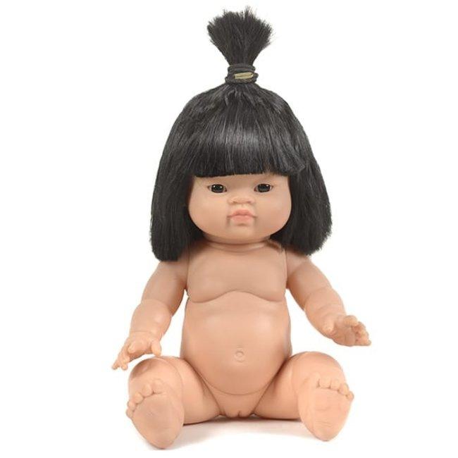 Minikane Puppe Jade Gordi Schwarze Haare