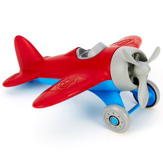 Green Toys Flugzeug rot