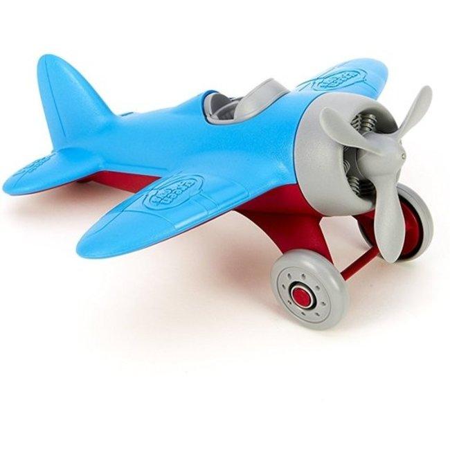 Green Toys Flugzeug Blau