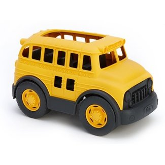 Green Toys Schoolbus Geel
