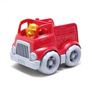 Green Toys Brandweerauto Rood