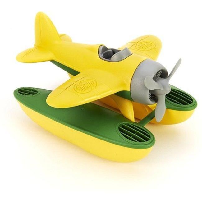 Green Toys Wasserflugzeug Gelb