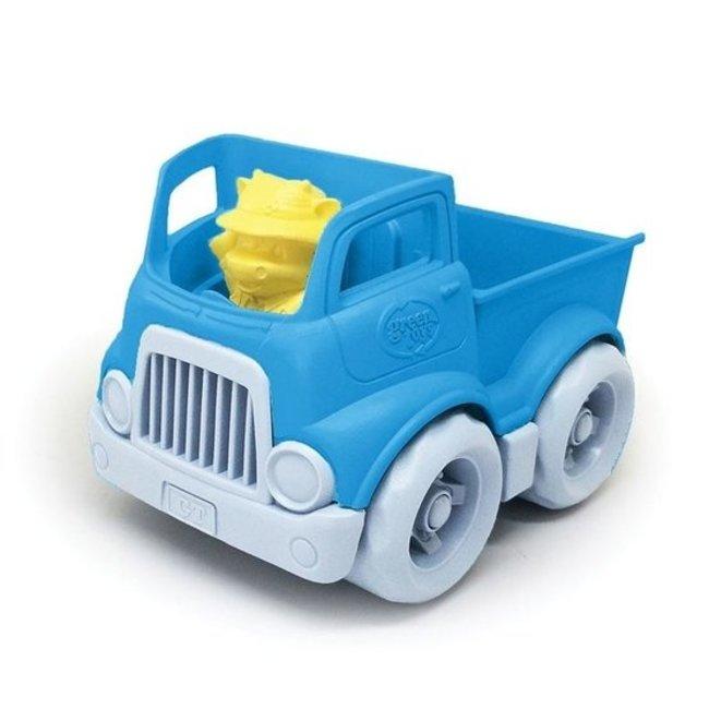 Green Toys Mini Pick-Up Truck Blauw