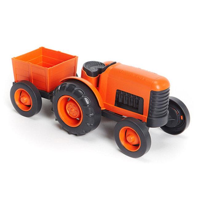 Green Toys Traktor Orange