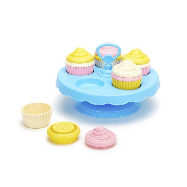 Green Toys Cupcakes 16 delig