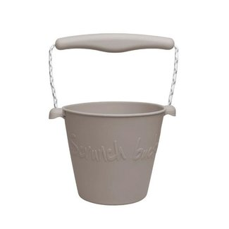 Scrunch Bucket Eimer Warm Grey