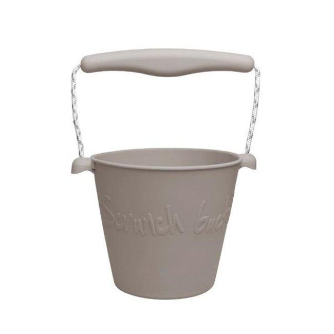 Scrunch Bucket Eimer Warm Grey