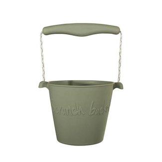 Scrunch Bucket Emmer Misty Grey