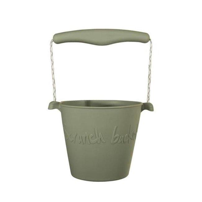 Scrunch Bucket Eimer Misty Grey