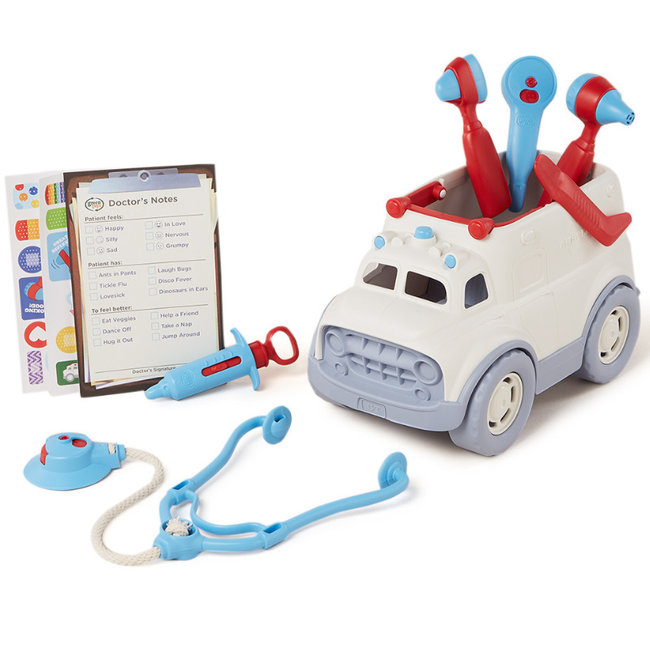 Green Toys Ambulance Dokterskoffer Wit