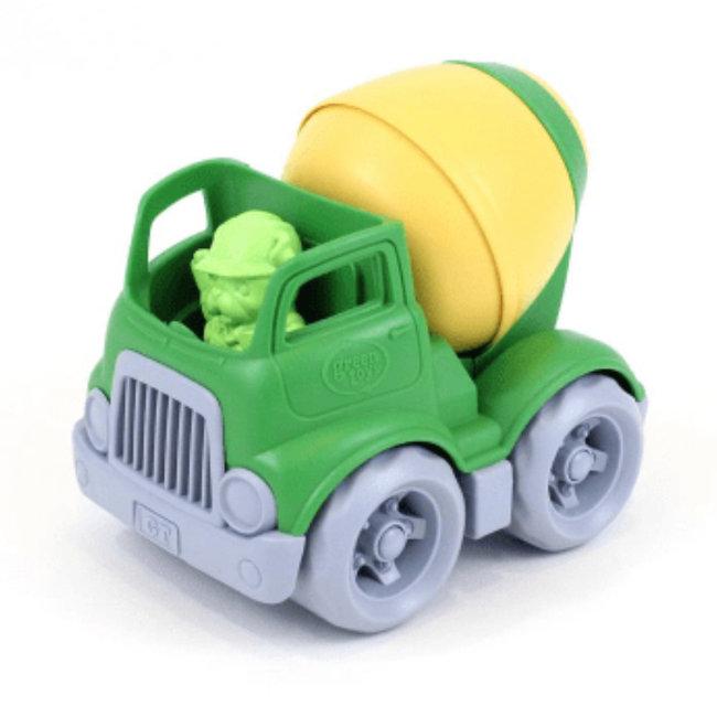 Green Toys Cementwagen Mixer Geel
