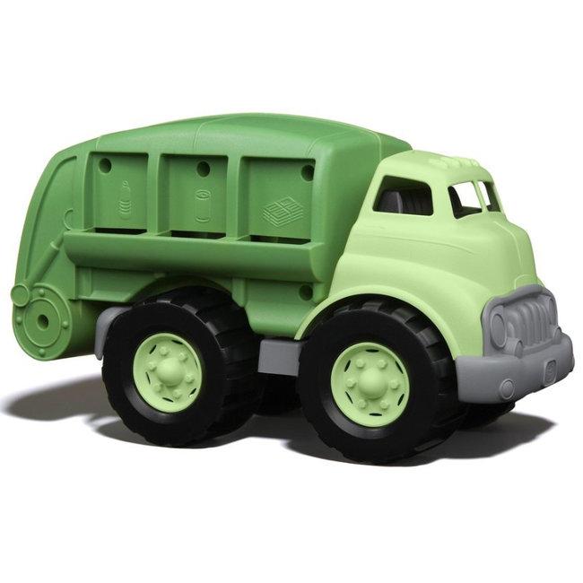 Green Toys Mullwagen Grün