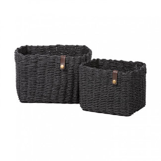 KidsDepot Baskets Black Nouk