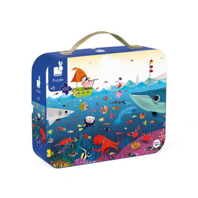 Janod Puzzle underwater 100 pieces