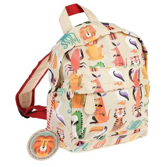 Rex London Mini Backpack Colourful Creature