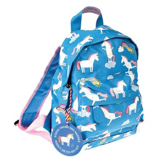 Rex London Mini Backpack Unicorn Blue
