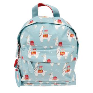 Rex London Mini Backpack Llama Blue