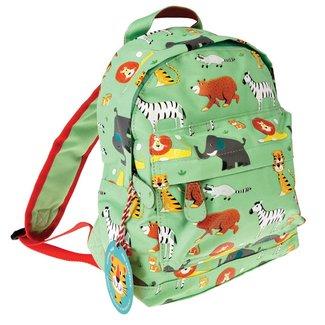 Rex London Mini Backpack Animal Park Green