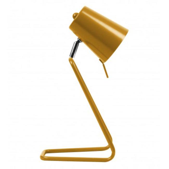 Leitmotiv Tischlampe Z Ockergelb