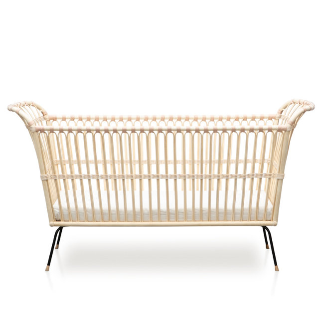 Bermbach Rattan Baby Bed Frederick