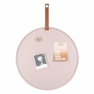 Leitmotiv Memo Board Perky Rosa