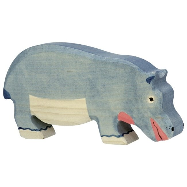 Holztiger Nijlpaard Etend 80161 18,5 cm