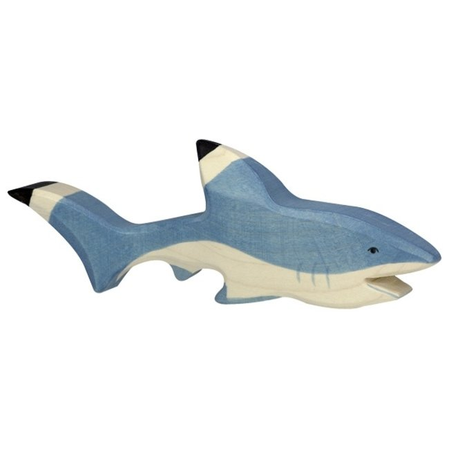 Holztiger Hai 80200 20 cm