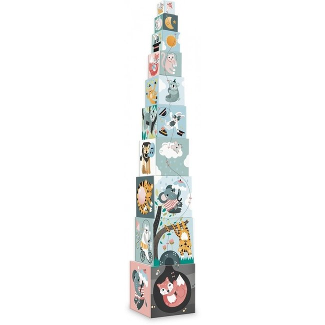 Vilac Stacking Tower Animals