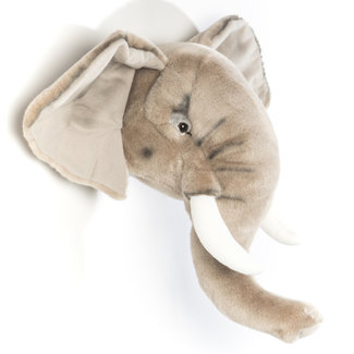 Wild and Soft Elephant trophy soft toy George