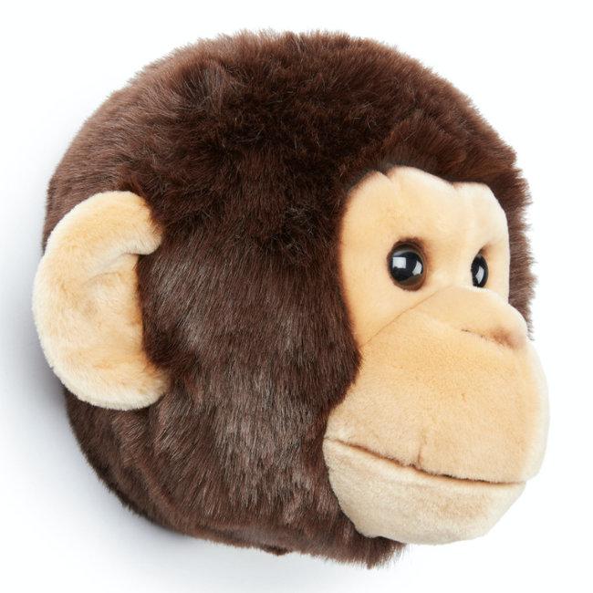 Wild and Soft Affe Plüschtierkopf Joe