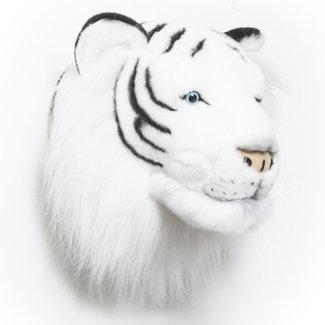 Wild and Soft Witte tijger dierenkop pluche Albert