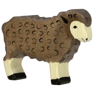 Holztiger Schafe Braun 80075 10 cm