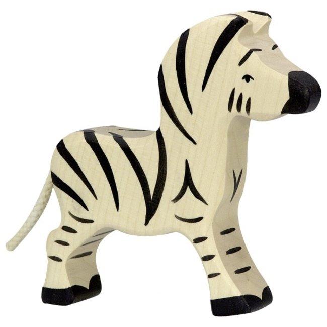 Holztiger Zebra klein 80153 11 cm