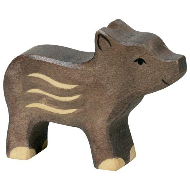 Holztiger Wild zwijn klein 80093 7 cm